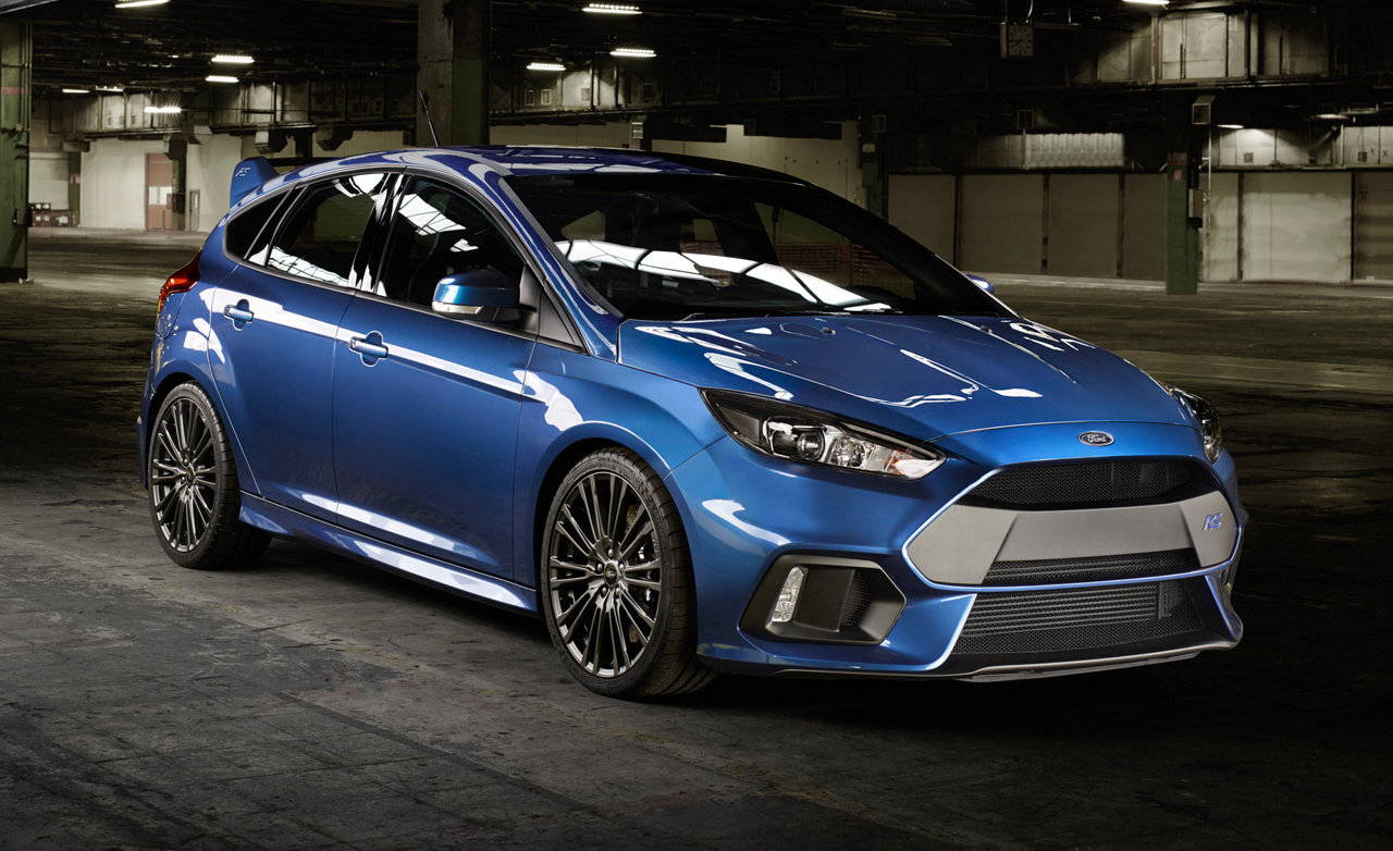 Ford Focus Rs On Speed