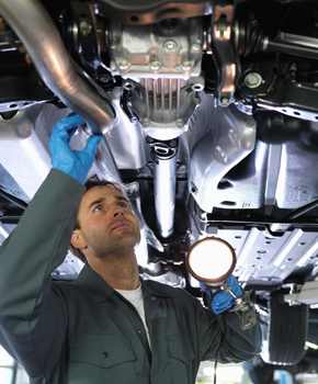 Exhaust System Maintenance Increases Vehicle Safety