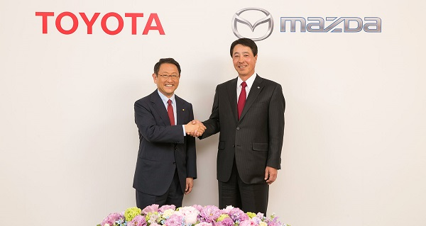 Could This Be the Beginning of a Beautiful Partnership Between Mazda and Toyota?