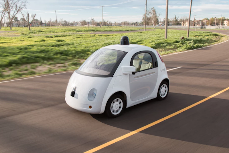 Google's Self-Driving Vehicles Go on the Road