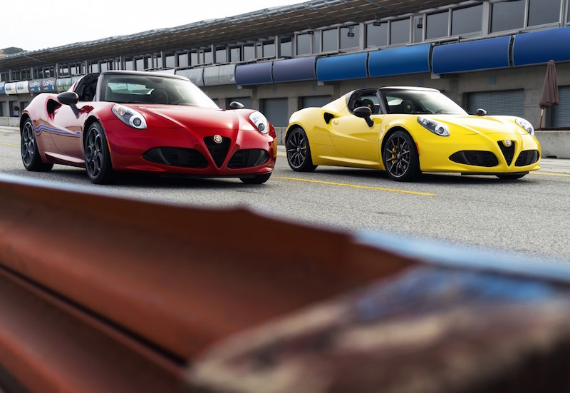 Want a 4C Spider? It Won't Come Cheap