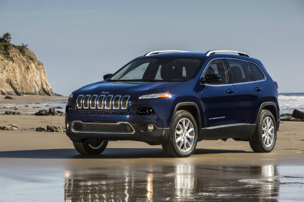 Jeep Cherokees Have Unexpected Pyrotechnic Display