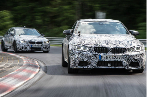 Peek at the 2018 BMW M5
