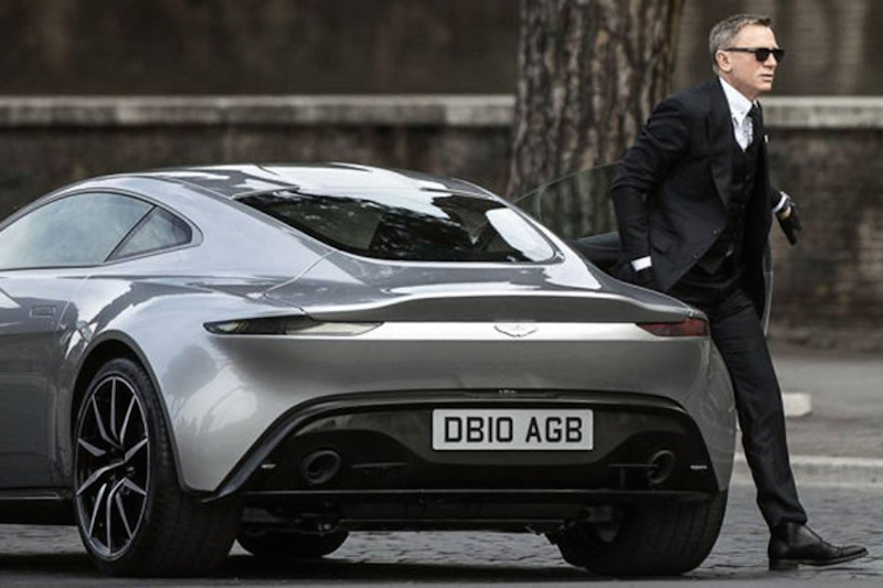 007 Rides an Aston Martin DB9 GT in Next Bond Flick