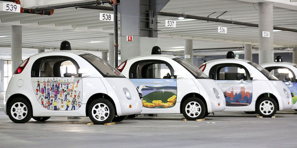Google's Next Innovation: Talking Self-Driving Vehicles
