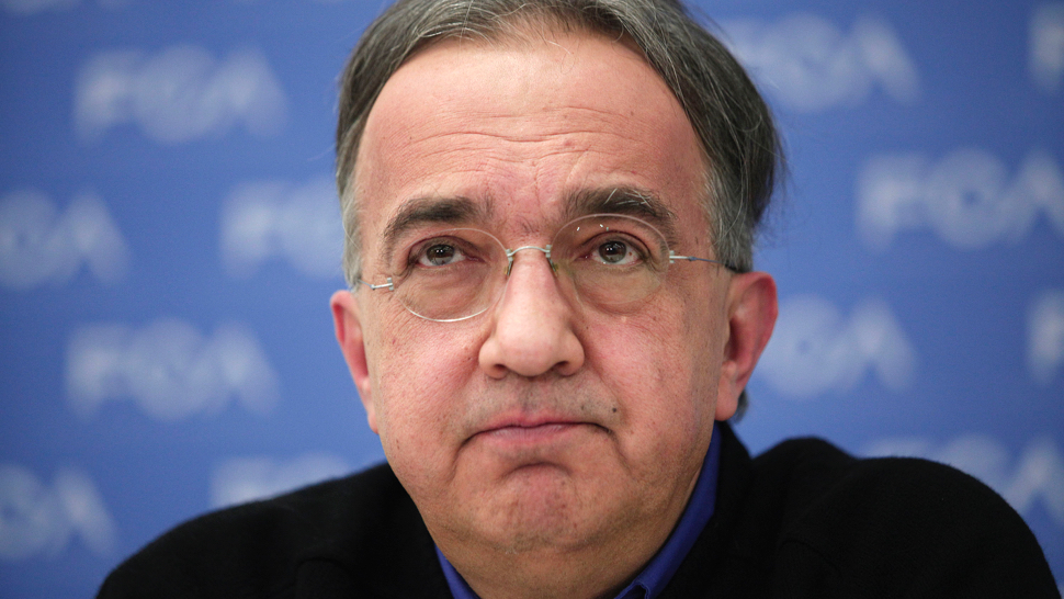 FCA's Marchionne Ends Talk of Merging with GM