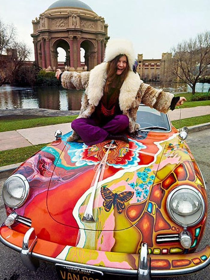 Oh Lord, Won't You Buy Me Janis Joplin's Psychedelic Porsche?