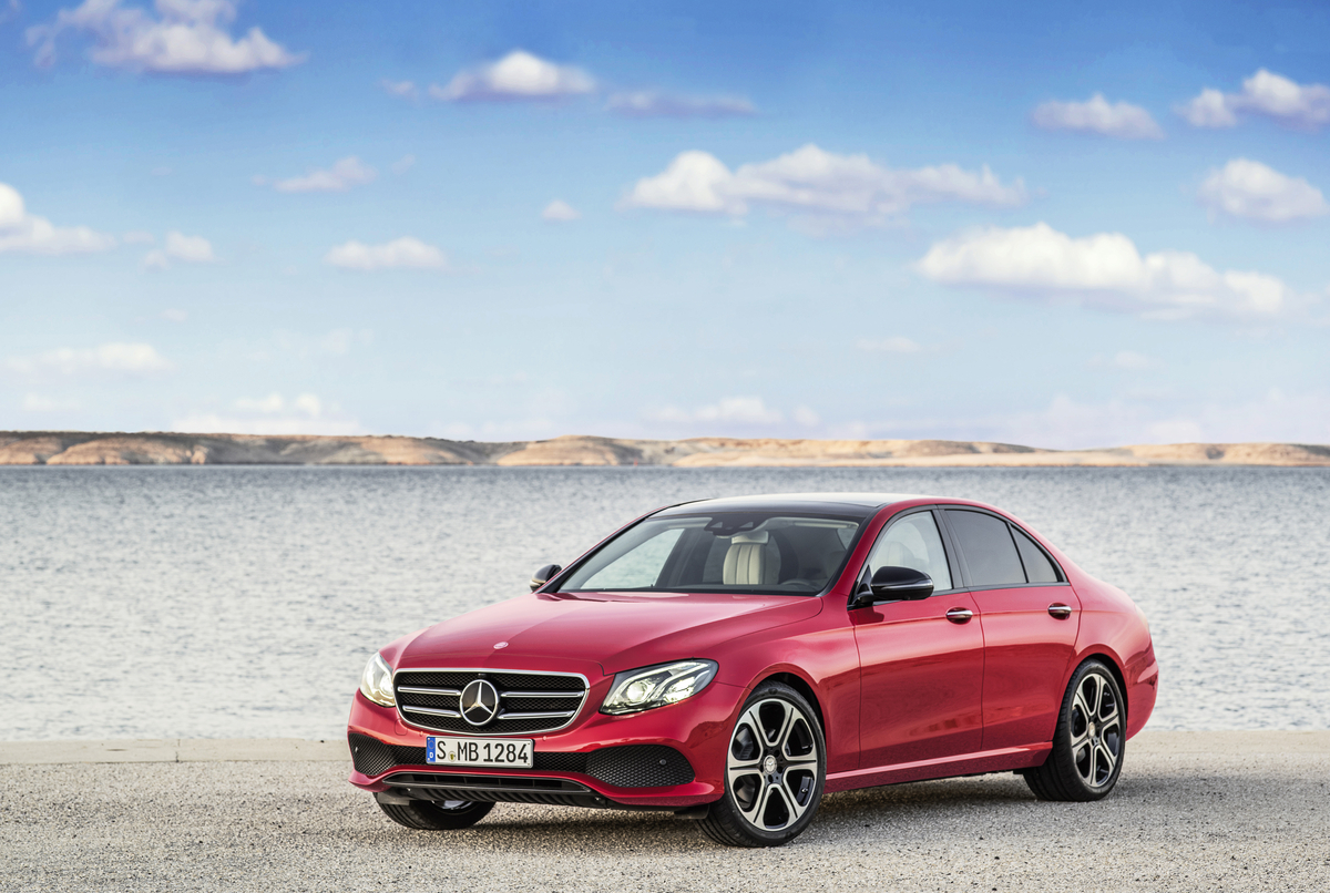 2017 Mercedes E-Class Powertrains