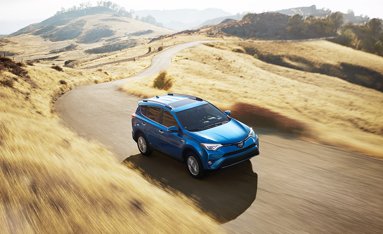 The 2016 Toyota RAV4 Hybrid