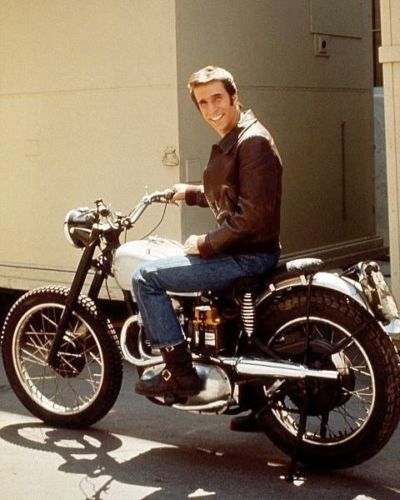 Aaaaaay! The Fonz's Triumph Motorcycle Is for Sale