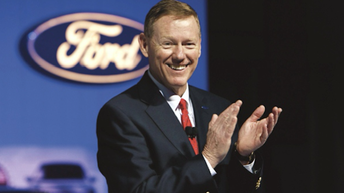 The Automotive Hall of Fame Honors Alan Mulally