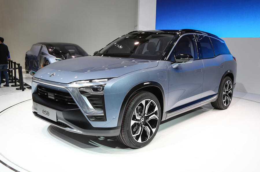 A Chinese Automotive Startup Reveals Electric SUV to Compete with Tesla