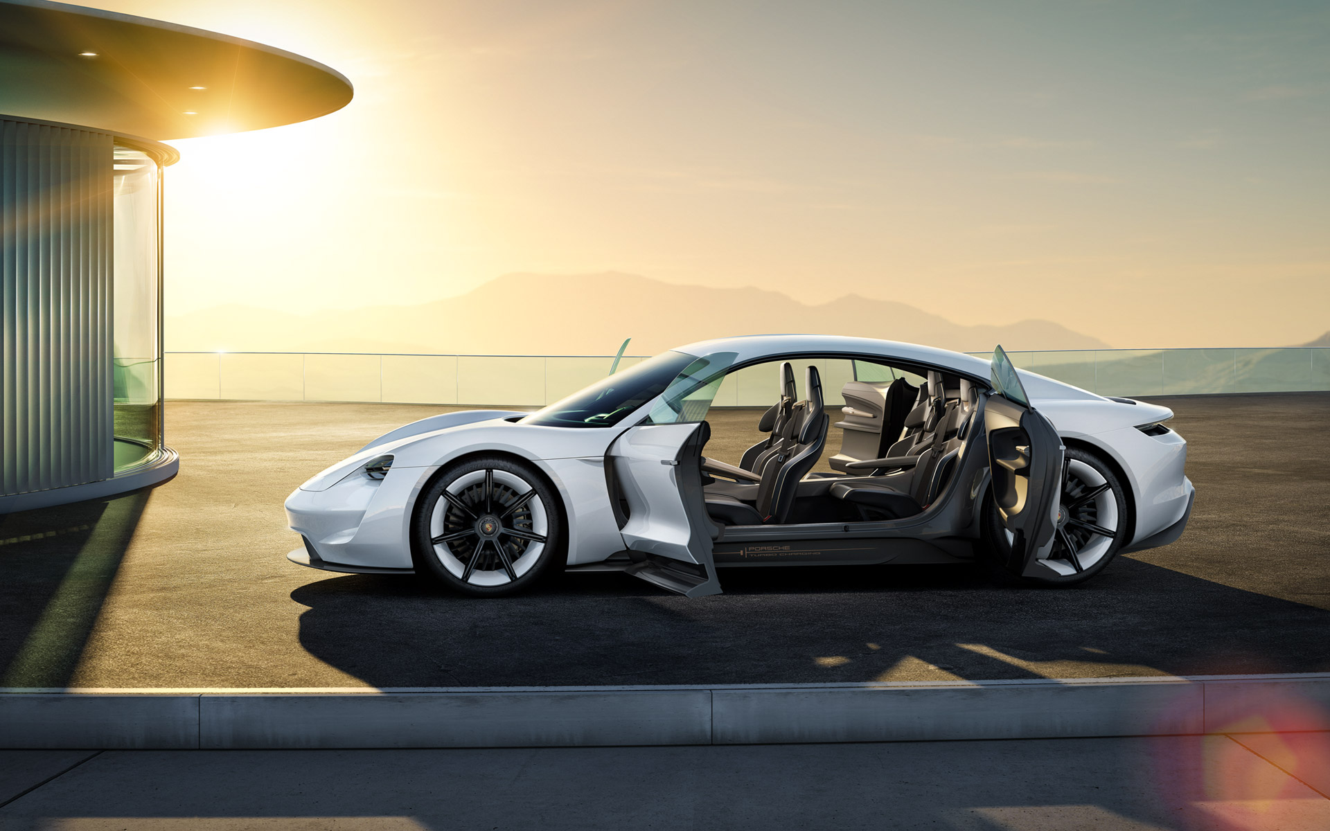Porsche's All Electric Car