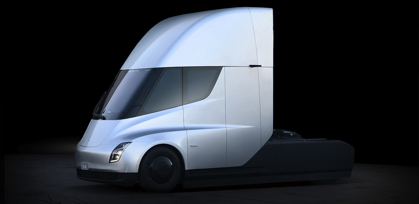 Tesla Unveils First Electric Semi Truck