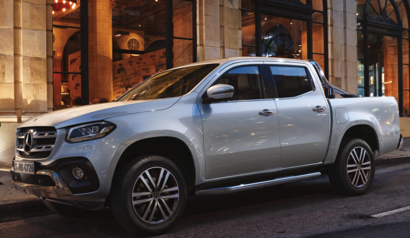 The Pickup Truck from Mercedes-Benz: The X Class