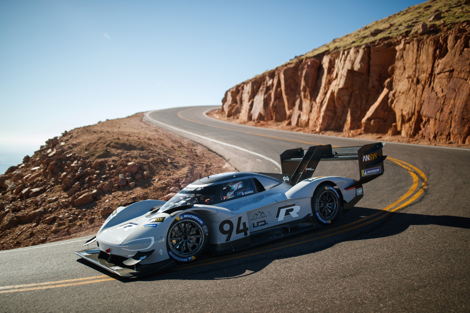 Volkswagen Makes History at Pikes Peak Climb