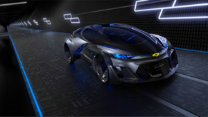 Chevy's Futuristic Concept Car Will Make You Want a Time Machine ASAP