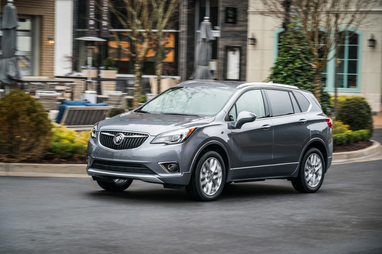 The 2019 Buick Envision: An SUV That's Just Right