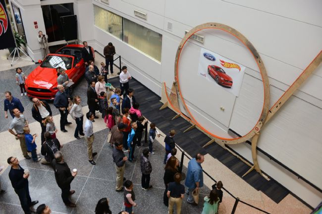 Ford Blinds Us with Science Thanks to Their World Record Hot Wheels Loop