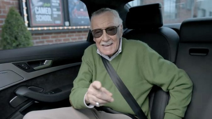 Cameo King Stan Lee Schools Us on the New Audi S8