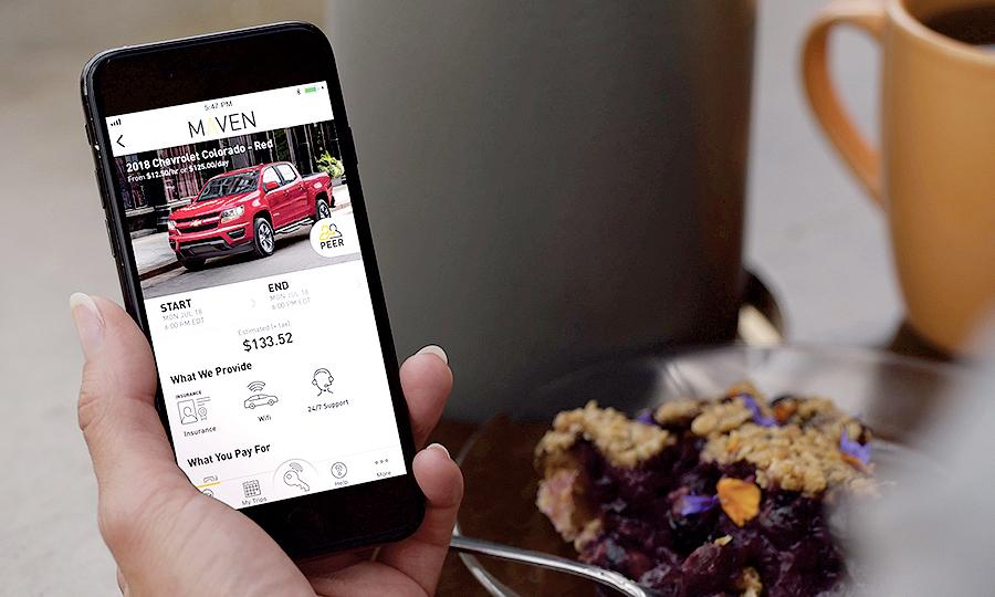 Maven: The Expansion of the Car-sharing Market