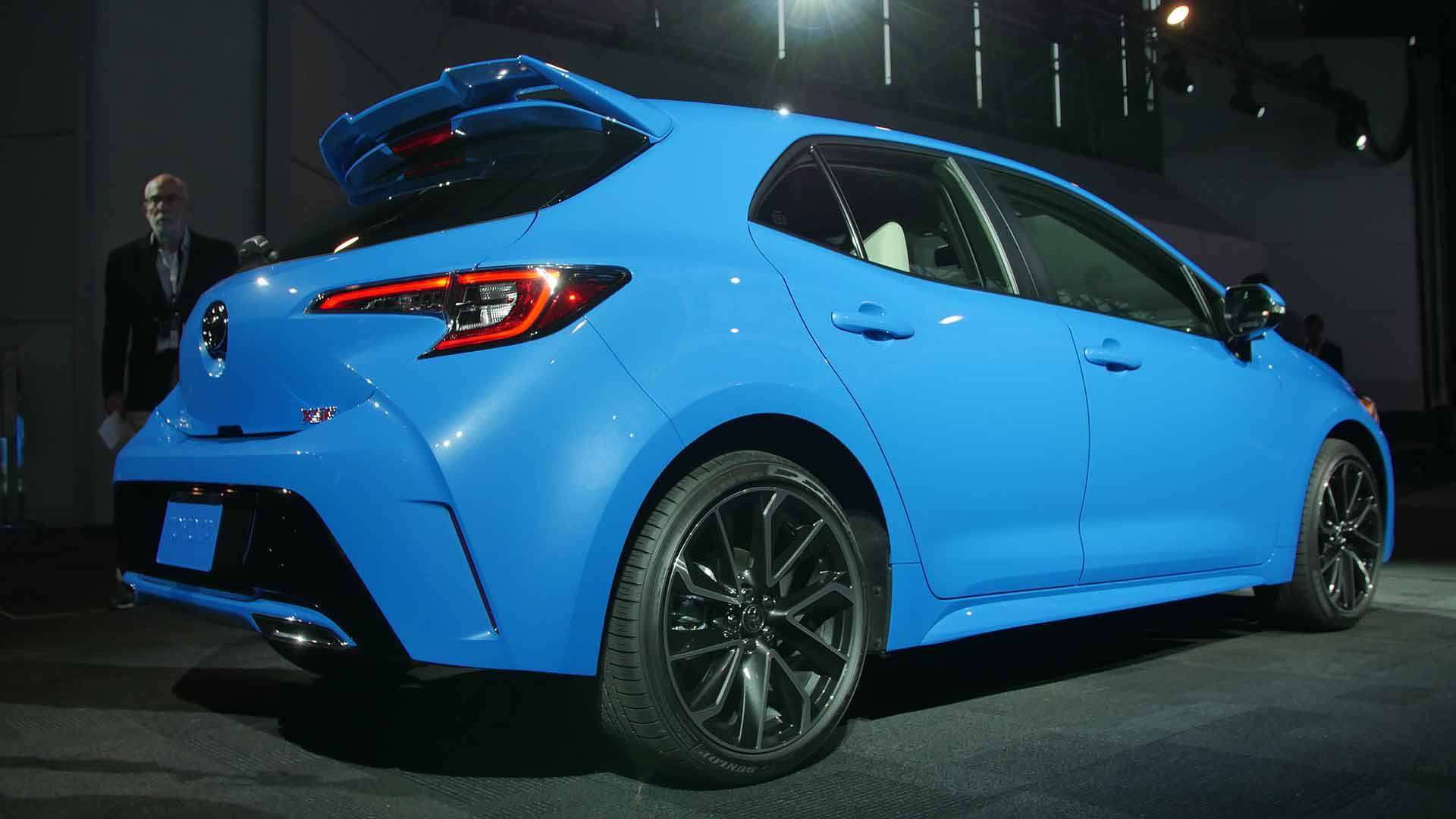2019 Toyota Corolla Hatchback Practical And Sporty