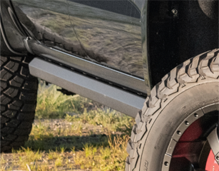Power Running Boards with rock sliders